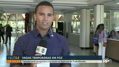 Hotel de Foz do Iguaçu está com vagas temporárias abertas - Na Agência do Trabalhador tem oportunidade para empacotador.