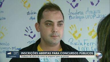Professor explica como se preparar para concursos públicos na região de Ribeirão Preto - Inscrições para prova da Polícia Militar Rodoviária já estão abertas.