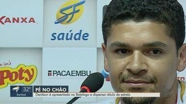 Volante Denilson é reforço do Botafogo-SP na temporada 2019 - Time do técnico Léo Condé começa a se preparar para o Campeonato Paulista 2019.