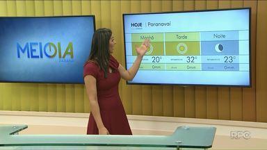 Previsão de sol forte no Noroeste nesta quinta-feira - Semana vai ser de céu aberto e altas temperaturas.