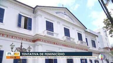 Testemunhas falam sobre a tentativa de feminicídio em Petrópolis, no RJ - Assista a seguir.