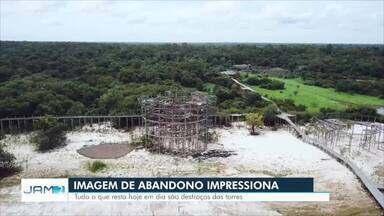 Encerramento de atividades do Ariaú segue afetando comunidades próximas - Hotel foi referência mundial em turismo no país.