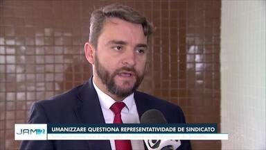 Sindicatos e Umanizzare comentam situação de agentes de socialização do AM - Umanizzare não reconhece sindicato que se colocou como representante da categoria após morte de agente dentro do Compaj.