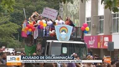 MPSC entra com ação contra prefeito de SC por discriminação à Parada da Diversidade - MPSC entra com ação contra prefeito de Balneário Camboriú por discriminação à Parada da Diversidade
