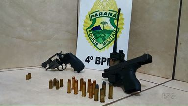 Homem é baleado no Campos Elíseos - Suspeitos foram presos com armas e rádio HT