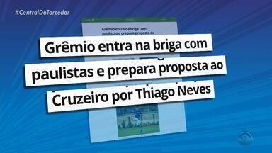 Grêmio entra na briga com paulistas e prepara proposta ao Cruzeiro por Thiago Neves - Executivo André Zanotta trabalha para ter o meia, prioridade para 2019.