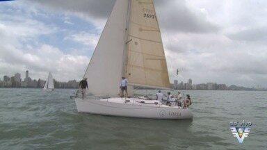 Santos recebe uma das regatas mais tradicionais do País - Foi dada a largada da Regata da Marinha na manhã deste sábado (8).