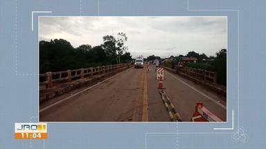 Ponte do distrito de Riozinho é liberada - Ponte ficou interditada durante quase um mês.