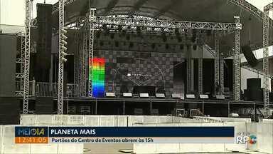 Festival Planeta Mais reúne atrações nacionais em Ponta Grossa - Os portões do Centro de Eventos abrem às 15h00 neste sábado (08).
