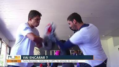 Vai Encarar: Talita Bernardo, lutadora do UFC, foi atração do quadro - Assista a seguir.
