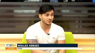 Wallas Arrais é uma das atrações do Villa Mix Fortaleza - Confira entrevista ao vivo no CE1