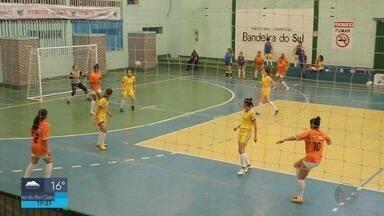 Bandeira do Sul é a campeã da Taça de Futsal Feminino - Bandeira do Sul é a campeã da Taça de Futsal Feminino