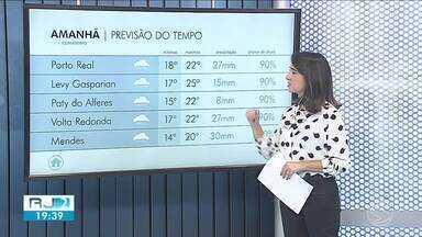 Domingo será de tempo instável no Sul do Rio de Janeiro - Confira como ficam os termômetros em algumas cidades da região.