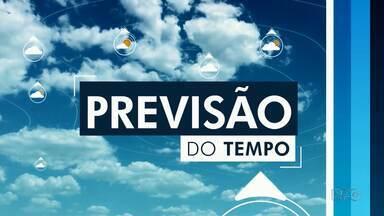 Domingo será de tempo firme em Guarapuava e região - As temperaturas não devem passar dos 30 graus.