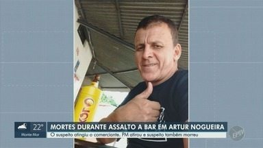 Comerciante assassinado em assalto é velado em Artur Nogueira - Suspeito, que já tinha passagem por homicídio e tráfico de drogas, também morreu.