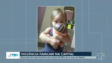 Criança de dois anos é morta pelo padrasto dentro de casa após briga em Belém - Segundo a polícia, o homem brigou com a mulher, o que resultou na morte da criança.