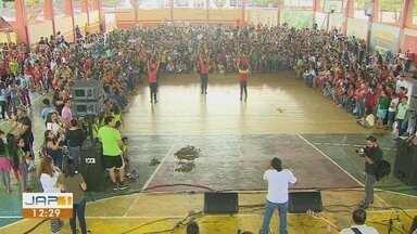 Preparativos para a cantata de Natal dos estudantes de Macapá estão a todo vapor - Mais de mil crianças vão se apresentar na noite deste sábado (8).