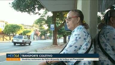 Usuários reclamam do transporte público de Paranavaí - Nessa semana o valor da tarifa foi reajustado.