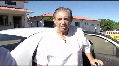 MP pede prisão preventiva do médium João de Deus, acusado de abuso sexual - Pela primeira vez após as denúncias aparecerem, médium foi ao centro espírita em Abadiânia (GO), onde atende. Ele se diz inocente.