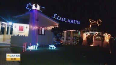 Confira as decorações de Natal das casas no Sul de MG - Confira as decorações de Natal das casas no Sul de MG