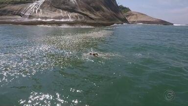 Reportagem mostra a preparação do ultramaratonista aquático Alan Viana no Rio Tietê - O ultramaratonista Alan Viana treina forte para participar de provas. A reportagem da TV TEM acompanhou os treinos no Rio Tietê.