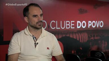 Executivo de futebol do Inter, Rodrigo Caetano fala sobre reforços para 2019 - Assista ao vídeo.