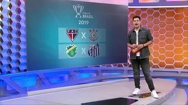 Conheça os adversário de Corinthians e Santos na Copa do Brasil de 2019 - Conheça os adversário de Corinthians e Santos na Copa do Brasil de 2019