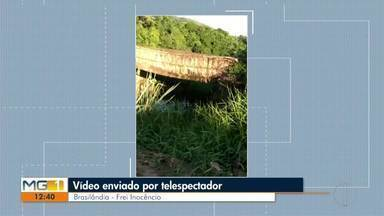 Veja os vídeos enviados pelos telespectadores no quadro VC no MG - Moradores da região reivindicam problemas em ruas e falta de iluminação.