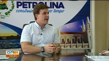 Prefeito Miguel Coelho faz balanço sobre ações do 'Petrolina Cuida' - Plataforma foi criada para melhorar o atendimento nas unidades de saúde da cidade.