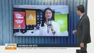 Acontece nesta sexta-feira distribuição de kits para ciclistas da Archer Pinto - Ciclistas já podem retirar o kit de prova na Arena da Amazônia