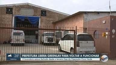 Departamento de Vigilância em Saúde desinterdita a lavanderia Greenlav, em Campinas - Local estava fechado desde a terceira fase da Operação Ouro Verde.