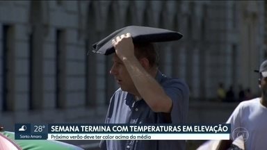 Próximo verão deve ter temperaturas acima da média em São Paulo - Alguns bairros da capital devem ter calor ainda mais intenso, tempestades mais fortes e isoladas e o número de raios deve aumentar em 30%.