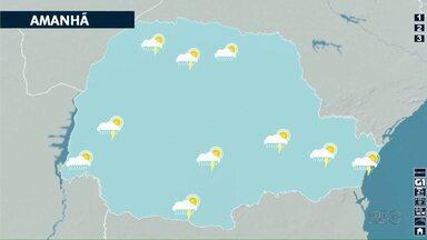 Fim de semana pode ter chuvas isoladas em Londrina - Mas o calor não deve diminuir.