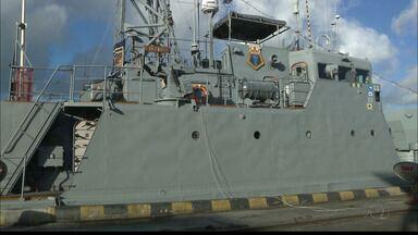JPB2JP: Navio da Marinha está aberto à visitação no Porto de Cabedelo - Até domingo.