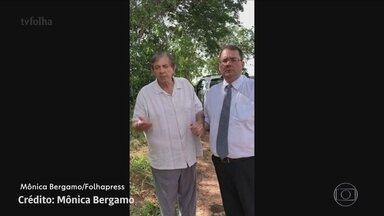 Médium João de Deus se entrega à polícia de Goiás - O médium João de Deus se entregou à polícia de Goiás, na tarde deste domingo. Ele presta depoimento na sede da delegacia de investigações criminais em Goiânia.