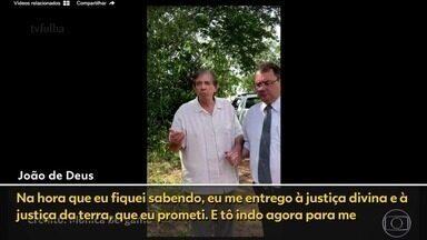 Reveja momento da prisão de João de Deus em Goiás - Médium acusado de abusos se entregou à Polícia Civil em estrada de terra.