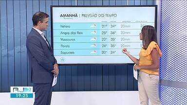Terça deve registrar a máxima mais alta da semana no Sul do Rio - Sol deve predominar na região e há possibilidade de chuva fraca no fim da tarde.