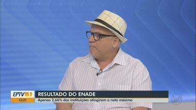 Resultado do Enade: apenas 2,66% das instituições atingiram a nota máxima - Especialista em educação e professor da UFSCar, José Carlos Rothen comenta a avaliação.