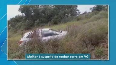 Mulher é presa por suspeita de roubar carro em Várzea Grande - Mulher é presa por suspeita de roubar carro em Várzea Grande.