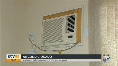 Calor aumenta venda de ar-condicionado no Sul de MG - Calor aumenta venda de ar-condicionado no Sul de MG