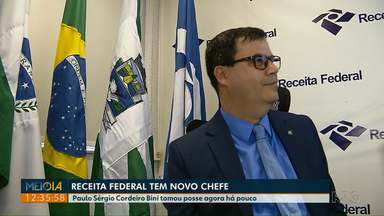 Paulo Sérgio Cordeiro Bini assume delegacia da Receita Federal, em Foz do Iguaçu - Ele tomou posse na manhã desta sexta-feira.