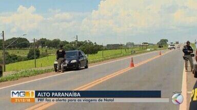 Polícias iniciam operação 'Natalina' nas rodovias do Triângulo Mineiro e Alto Paranaíba - Ação ocorre a partir desta sexta-feira (21) até o dia 25 de dezembro. Polícia Rodoviária Federal (PRF) e Polícia Rodoviária Estadual (PRE) falam quais serão as principais atividades realizadas nas rodovias da região.