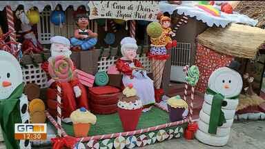 Casa vira atração turística por causa da decoração de Natal, em Recife - Os donos da residência foram cuidadosos com os detalhes.
