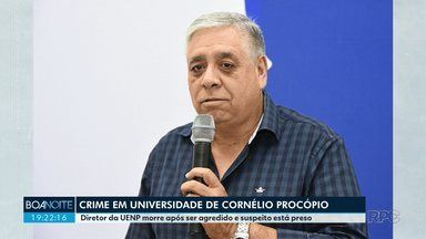 Diretor é morto dentro de universidade - Professor confessou o crime
