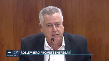 Rollemberg diz que vi entregar o DF sem déficit - Governador se apressou em responder a declaração do vice-governador eleito, Paco Britto, de que a futura gestão iria receber um rombo bilionário nas contas.
