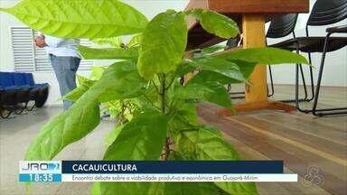Encontro em Guajará-Mirim discute plantio do cacau - Técnicos e especialistas trataram da utilização do cacau clonal para melhorar o plantio.