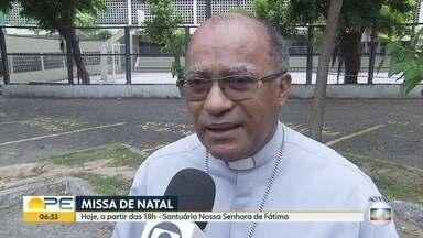 Missa de Natal muda de endereço e será celebrada no santuário de Nossa Senhora de Fátima - Solenidade era realizada no Quartel do Derby, na área central do Recife