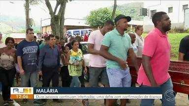 Familiares se despedem de missionário de Valença que contraiu malária na África - Duas pessoas estão internadas e uma delas com confirmação da doença.