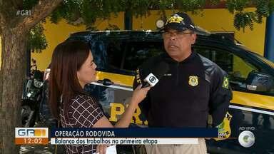 Polícia Rodoviária Federal faz balanço da Operação Rodovida - A operação foi realizada durante o feriado do natal.