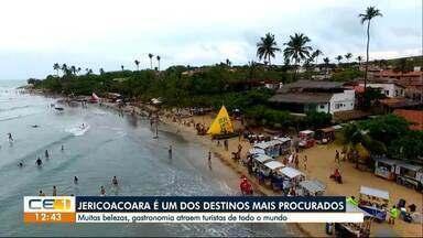 Jericoacoara: um dos destinos mais procurados até o carnaval - Confira outras notícias no g1.globo/ce